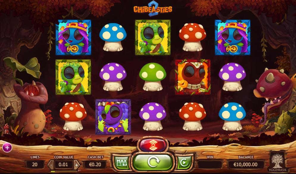 Chibeasties 2 Slot Game