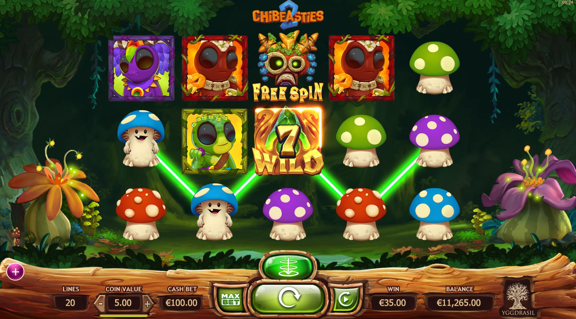 Chibeasties 2 Free Slots