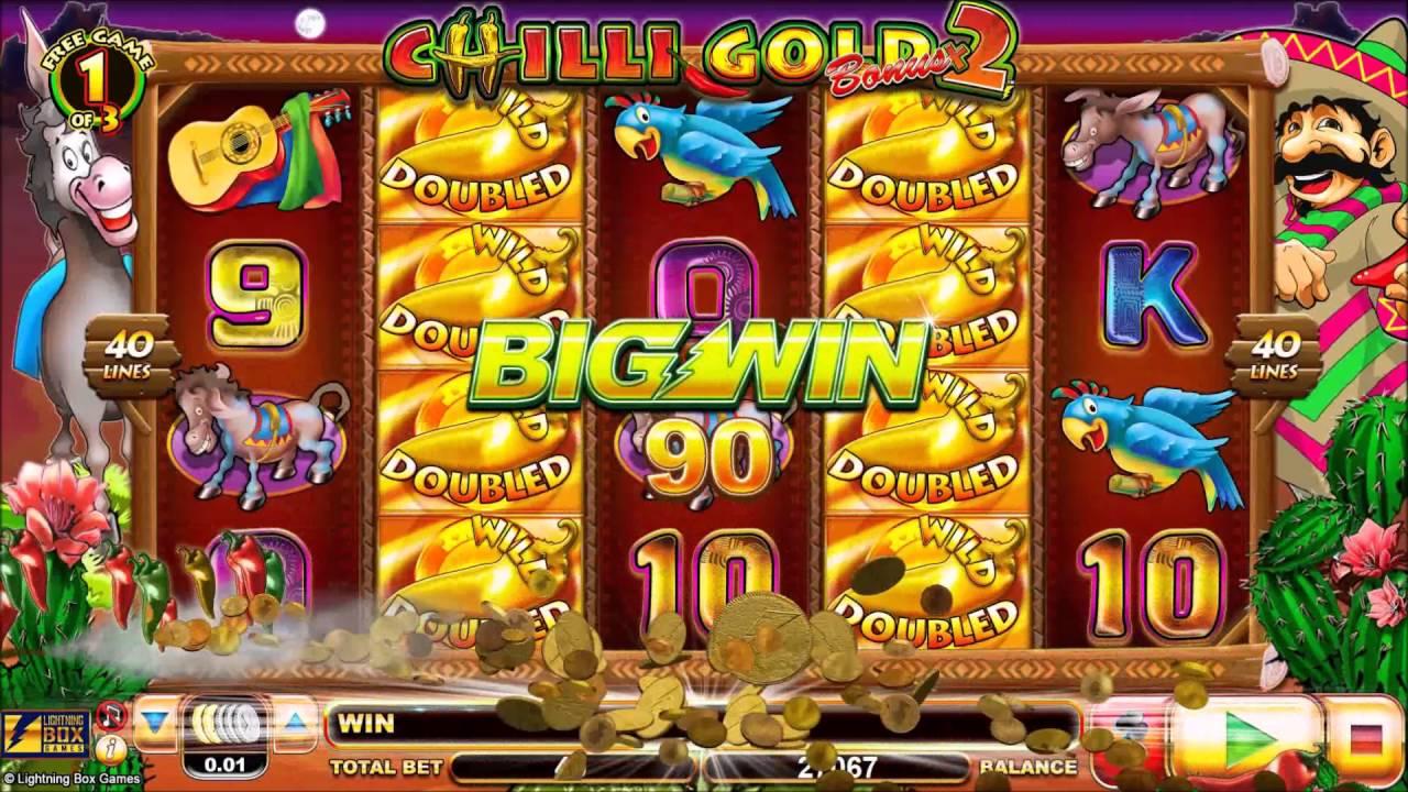 Chilli Gold 2 Free Slots