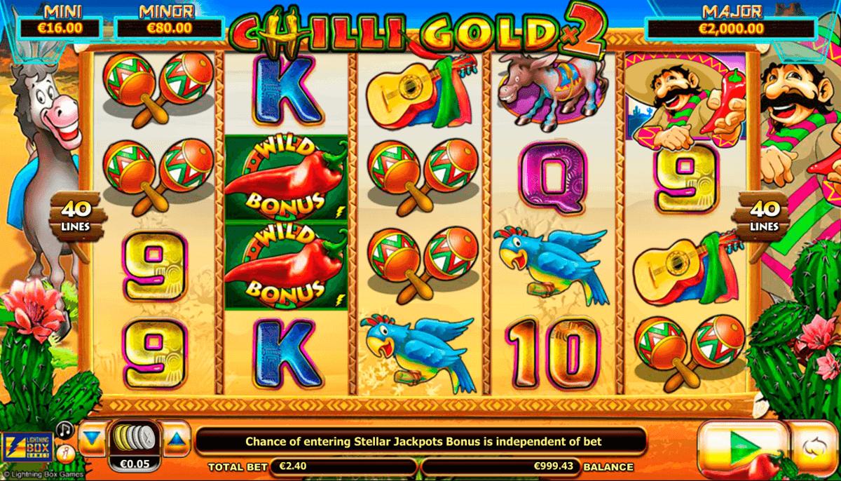 Chilli Gold 2 Slot Game