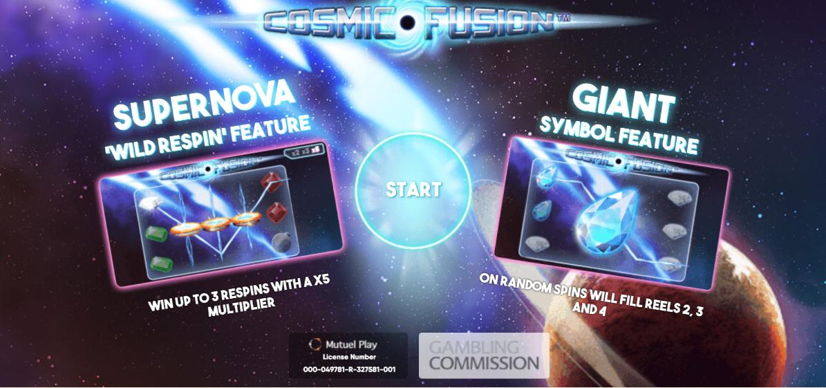 Cosmic Fusion Free Slots