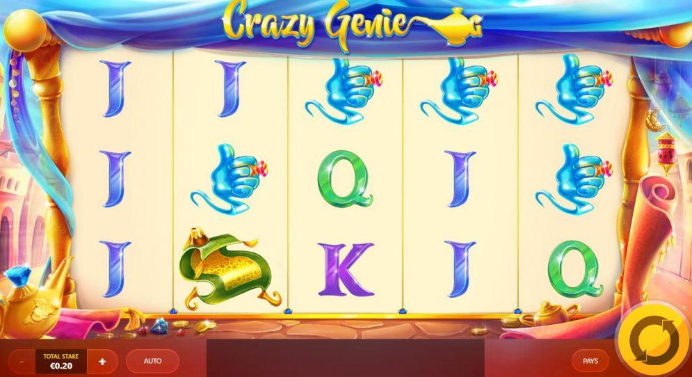 Crazy Genie Slot Game
