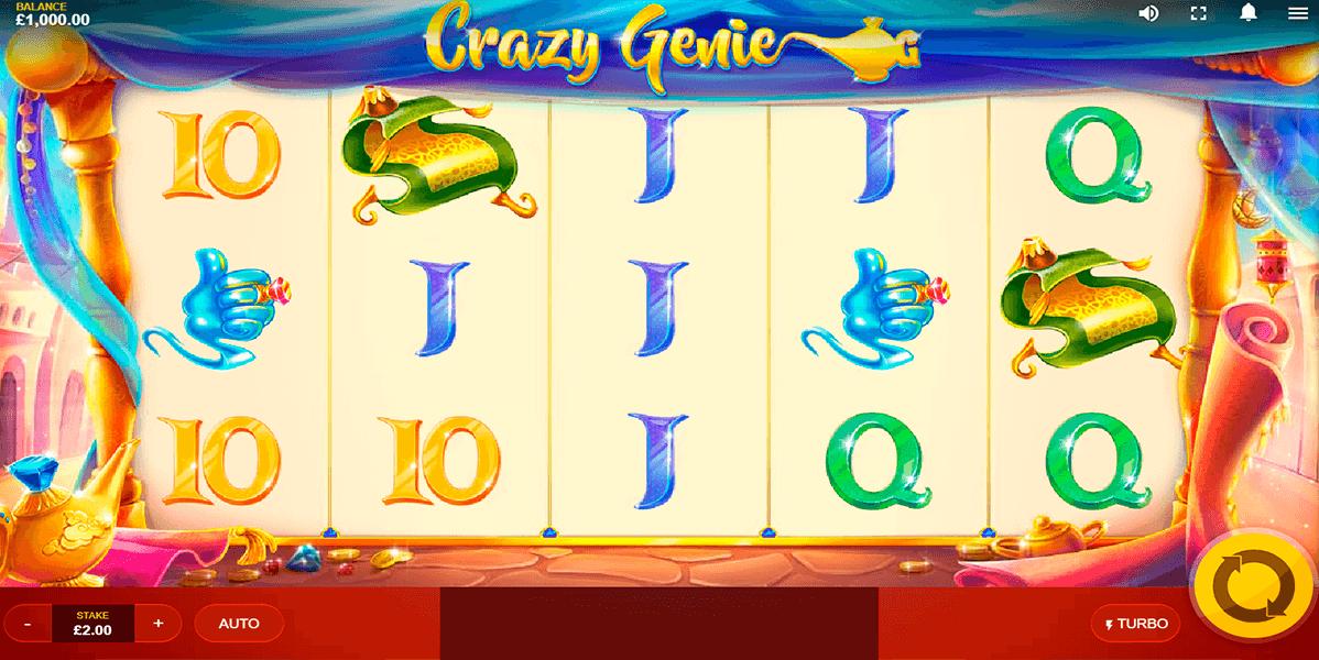 Crazy Genie Free Slots