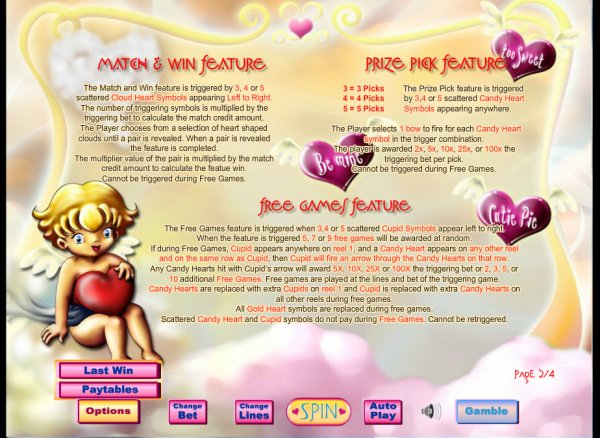 Cupids Arrow Free Slots