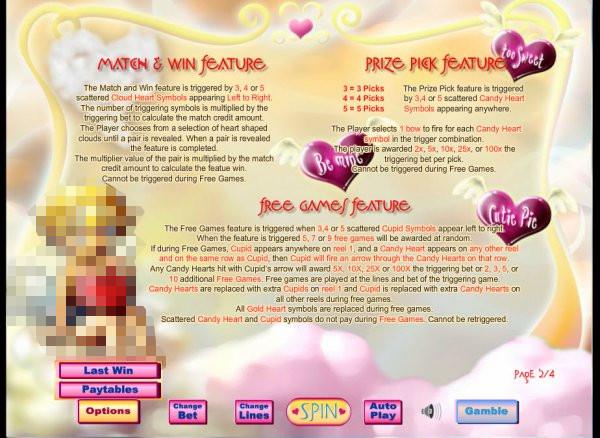 Cupids Arrow Free Slots