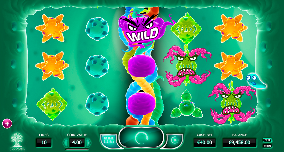 Cyrus The Virus Slot Game