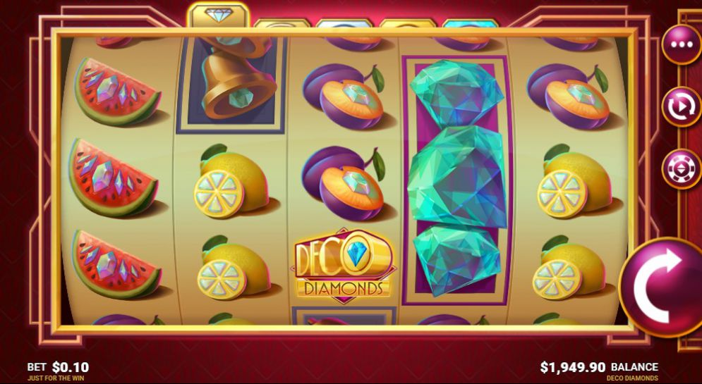 Deco Diamonds Slot Game