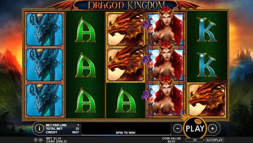 Dragon Kingdom Slot Online