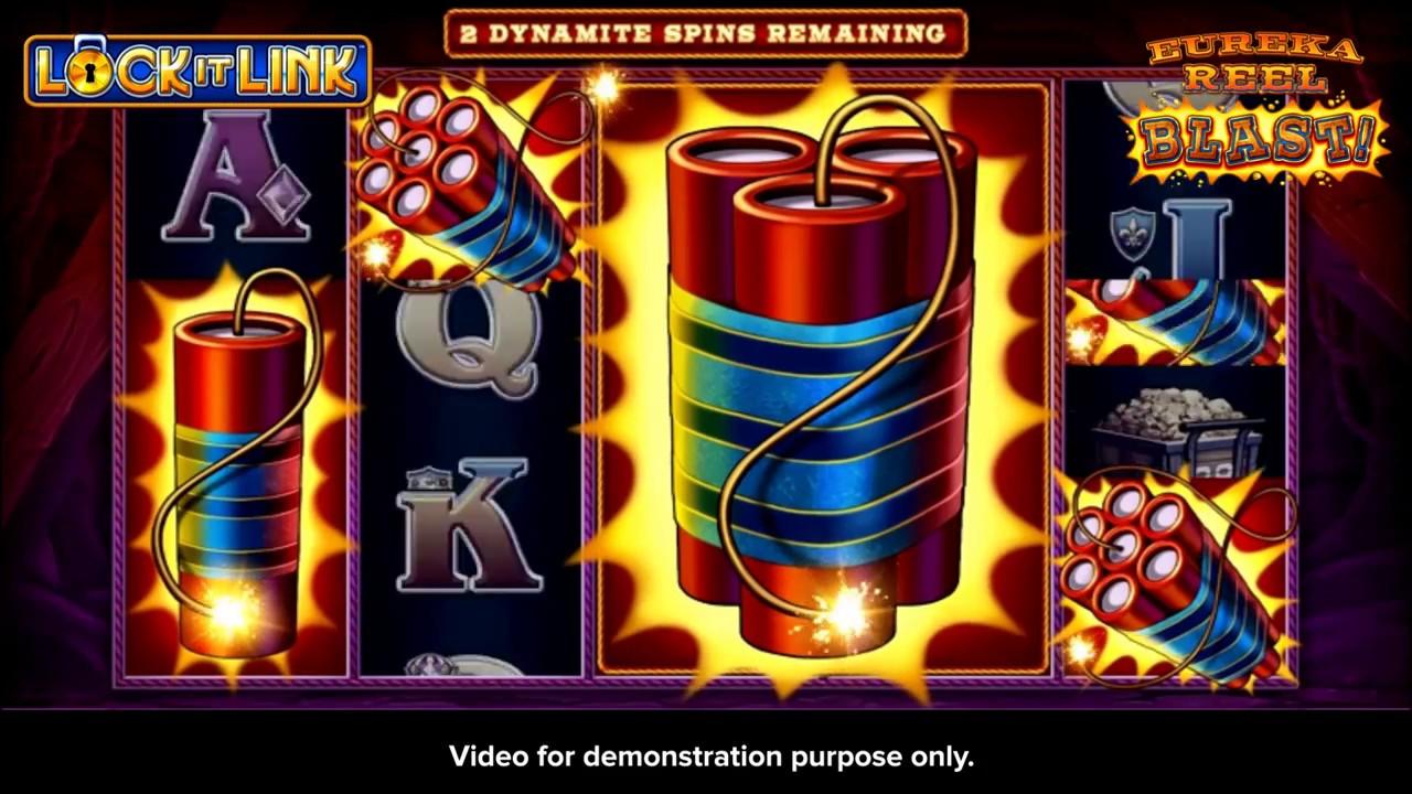 Eureka Reel Blast Super Lock Slot Game