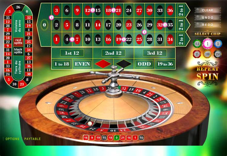 European Roulette Casino Game Thor Slots