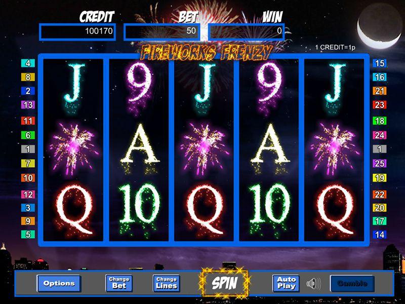 firework frenzy slot game