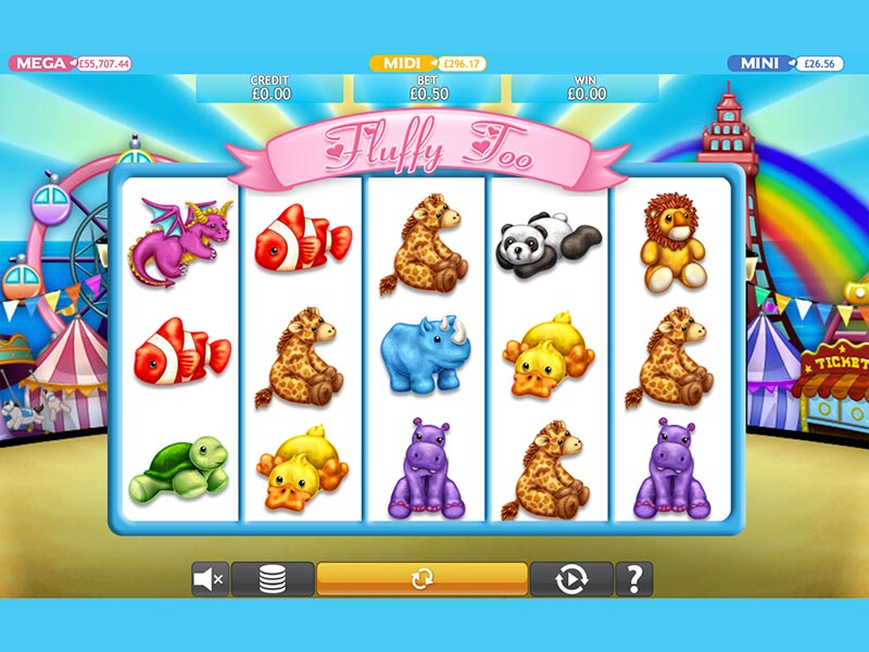 Play Fluffy Too Slots Game