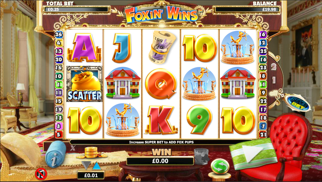 Foxin' Wins Slot Gameplay