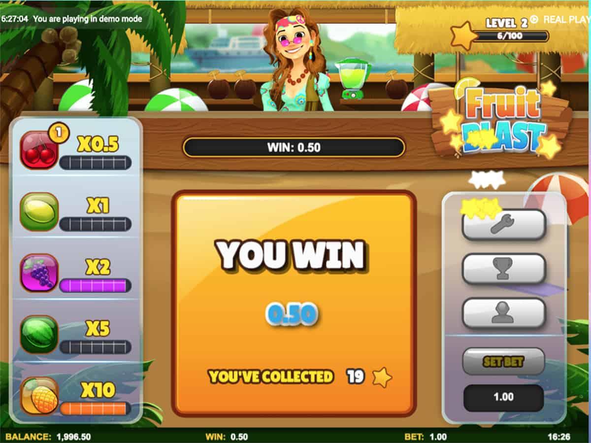 Fruit Blast Slot Big Win