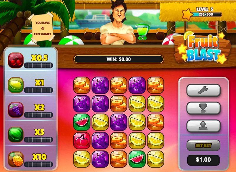 Fruit Blast Slot Game