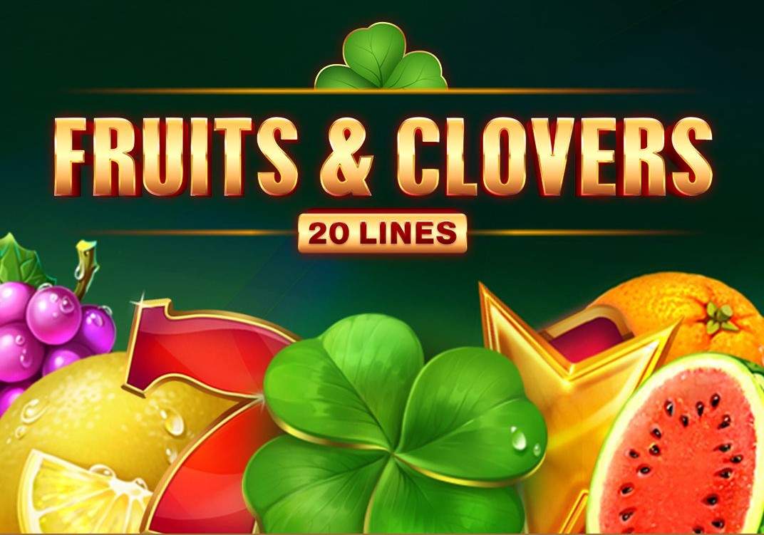 Fruits and Clovers: 20 Lines Slot Logo Thor Slots