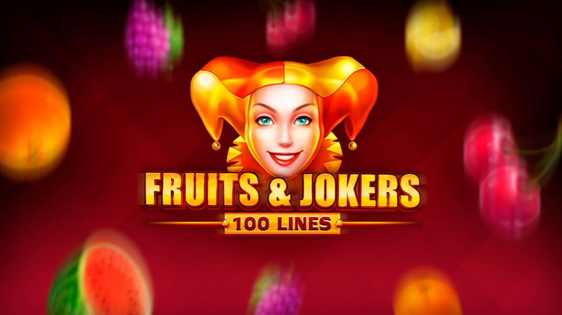 Fruits & Jokers: 100 Lines Slot Logo Thor Slots