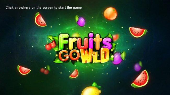 Fruits Go Wild Slot Logo Thor Slots