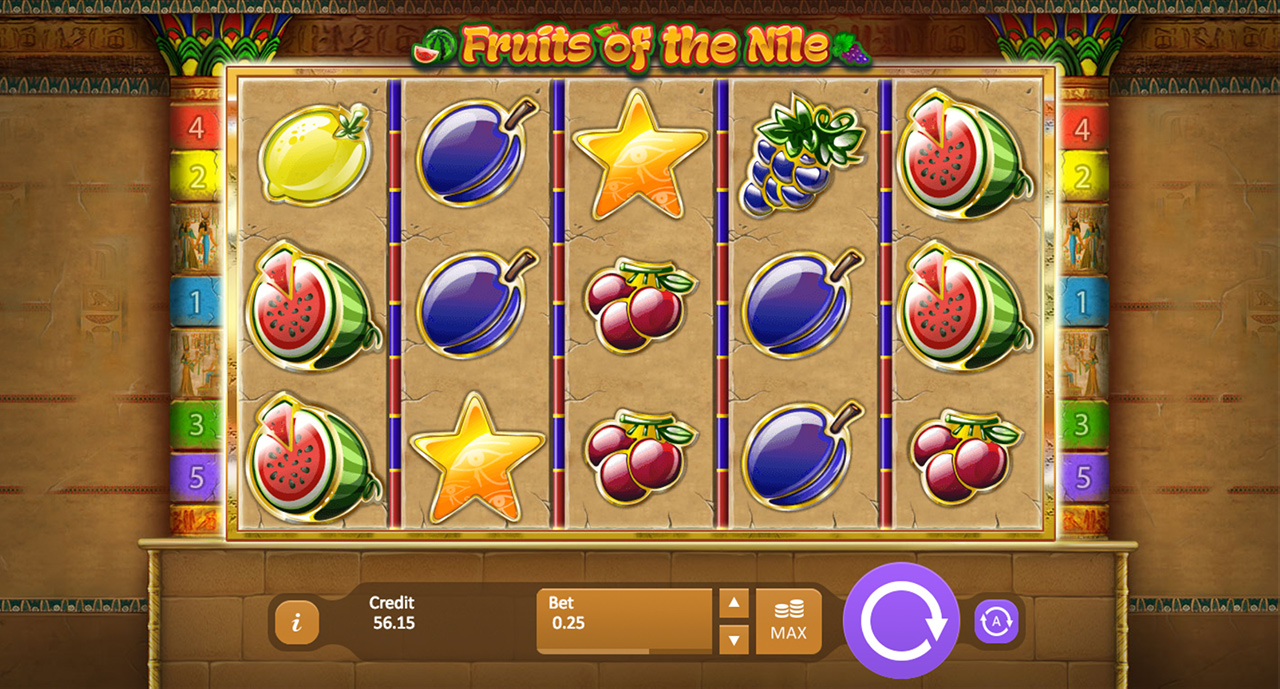 Fruits of the Nile Slots Reels