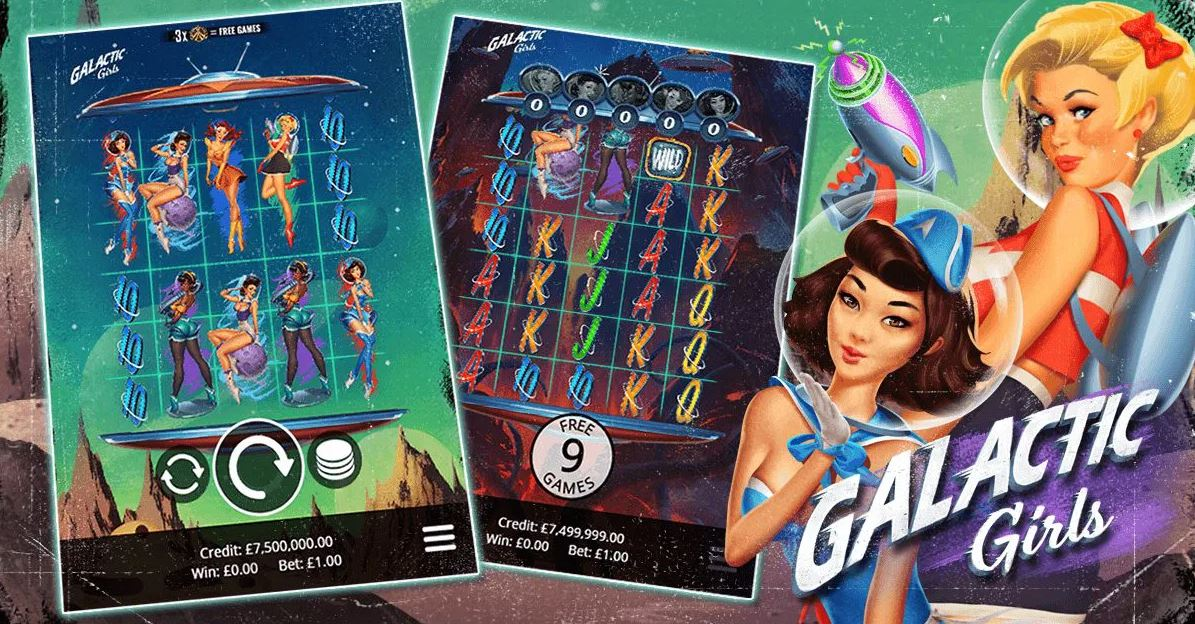 Galactic Girls Slot Thor Slots