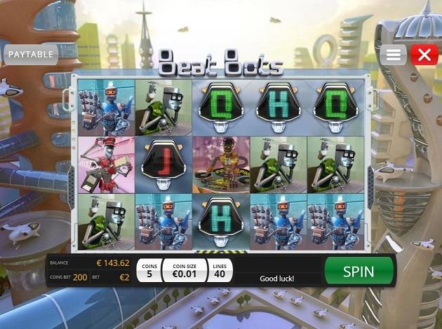 Beat Bots Online Slots