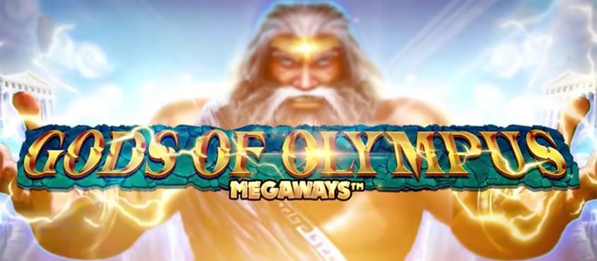 Gods of Olympus MegaWays Slot Logo Thor Slots