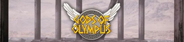 Gods of Olympus slot Logo Thor Slots