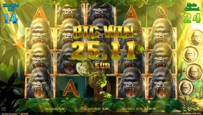 Gorilla Kingdom Free Slots