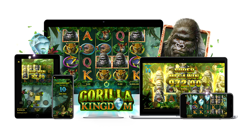 Gorilla Kingdom Mobile Slots