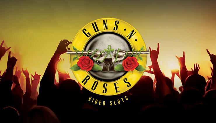 Guns N roses slot logo