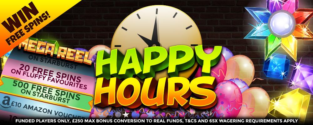 HappyHour - ThorSlots Promotions