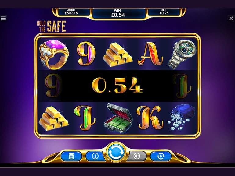 Hold The Safe Jackpot Slots Game