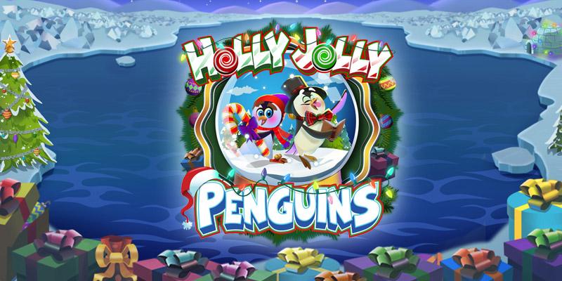 Holly Jolly Penguins Slot Thor Slots