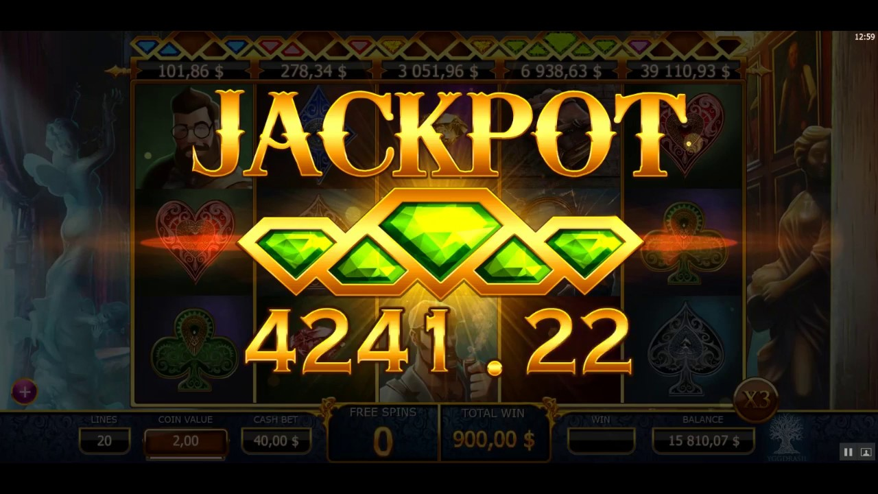 Holmes and the Stolen Stones Jackpot Slots