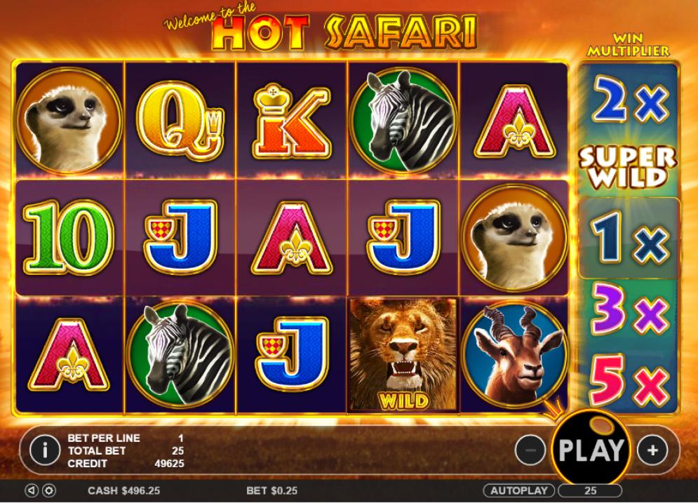 Hot Safari Slots Thor Slots Online