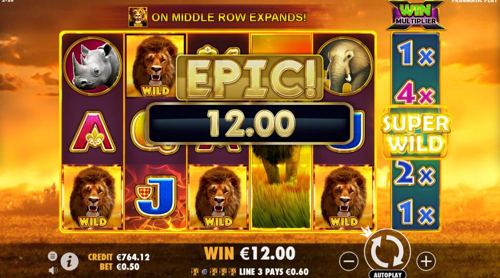hot safari gameplay epic thorslots