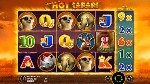 hot safari gameplay thorslots