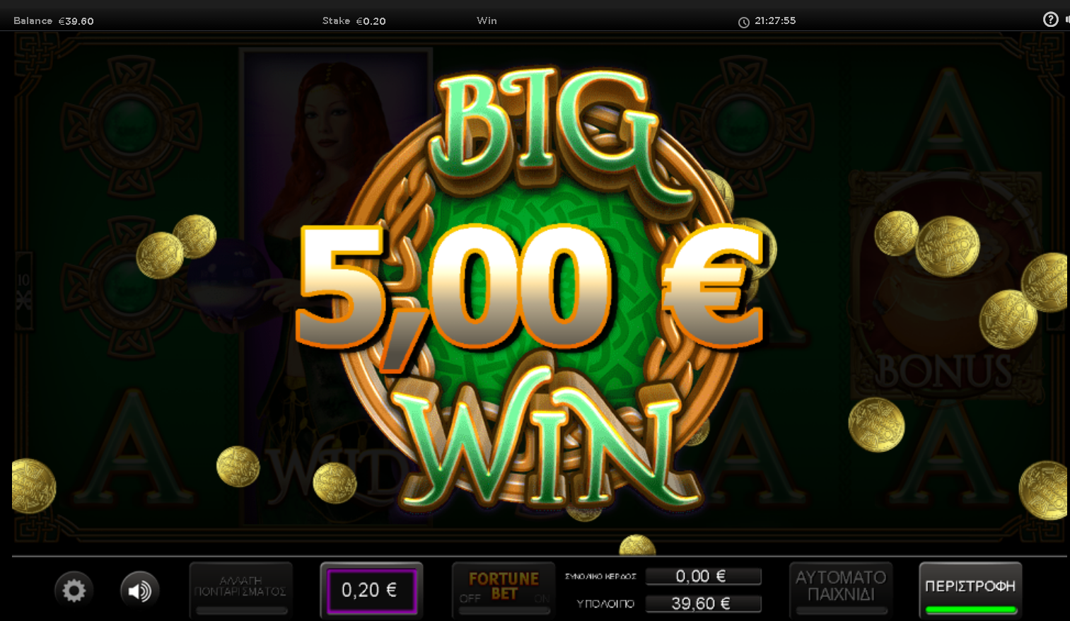 Irish Fortune Big Win