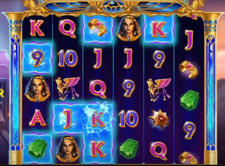 Ishtar Power Zones Slot Gameplay