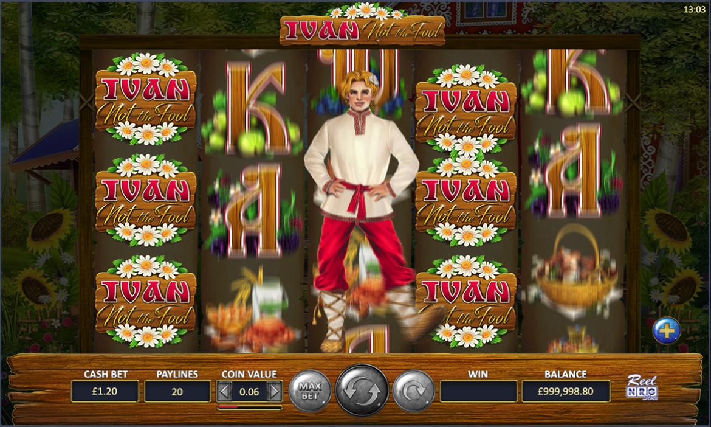 Ivan Not the Fool Slot Gameplay