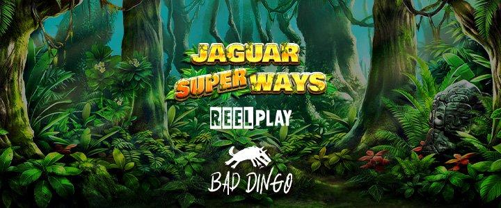 Jaguar Super Ways Slot Banner