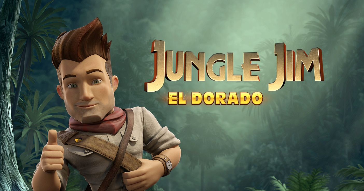 Jungle Jim El Dorado slot game logo