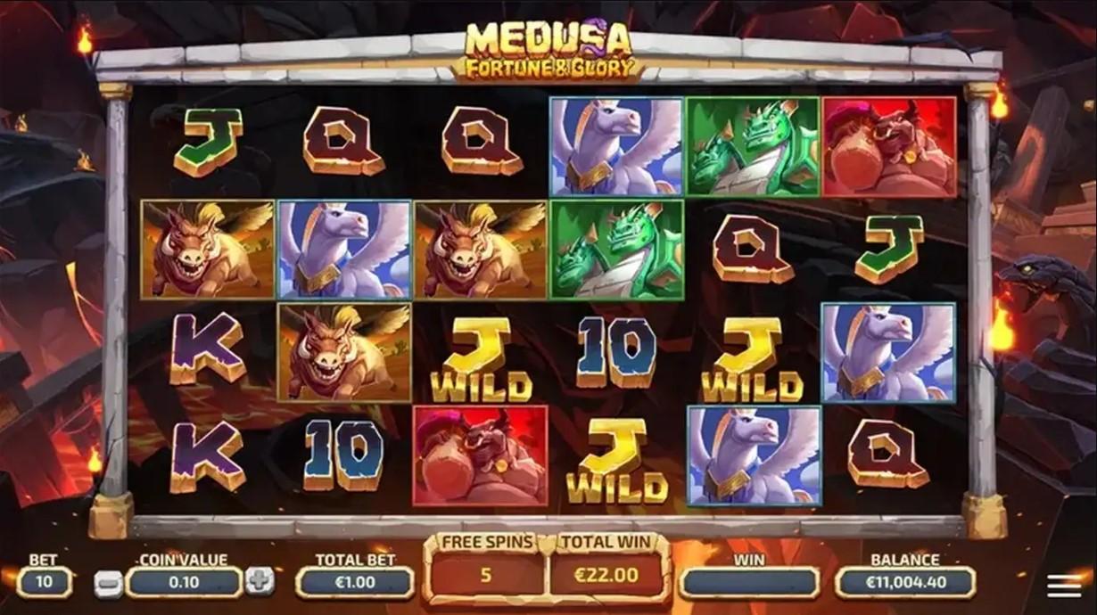 Medusa Fortune & Glory Slot Game