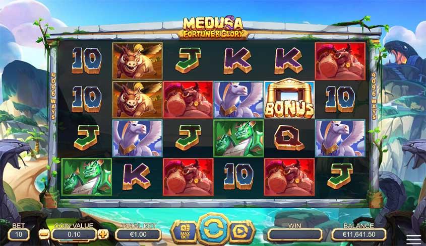 Medusa Fortune & Glory Slots Online