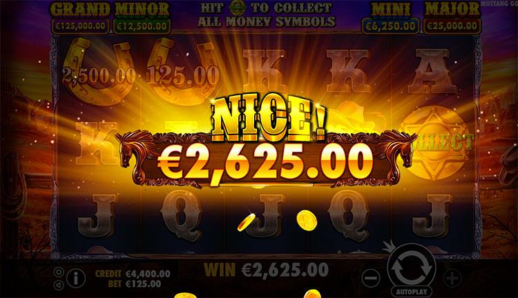 Mustang Gold Slot Gameplay