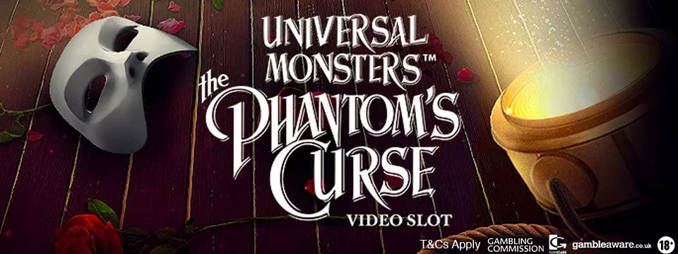 The Phantoms Curse Slot Banner