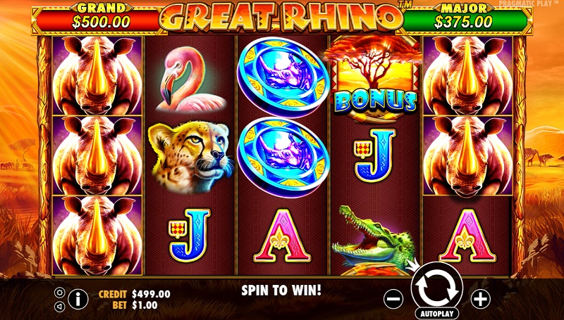 Great Rhino Slot Game