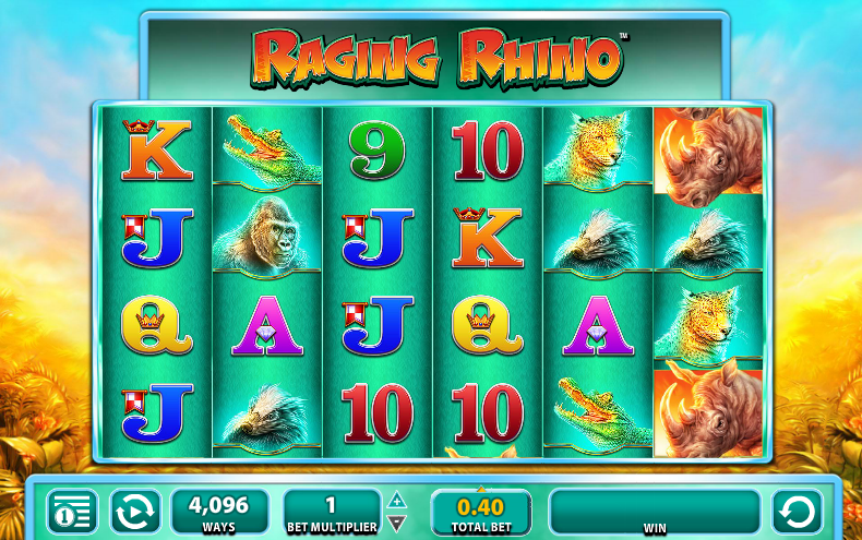Raging Rhino Slot Game