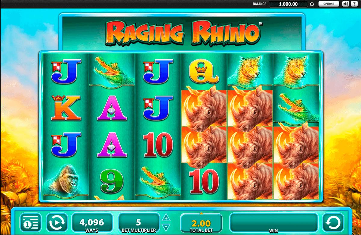 Raging Rhino Free Slots