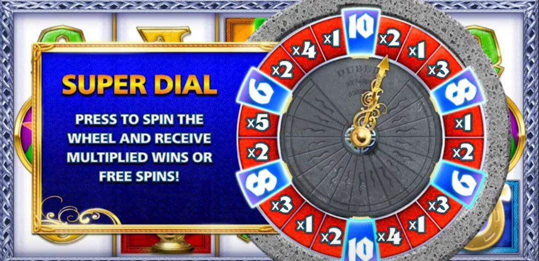 rainbow Riches MIdnight Magic Wheel Feature
